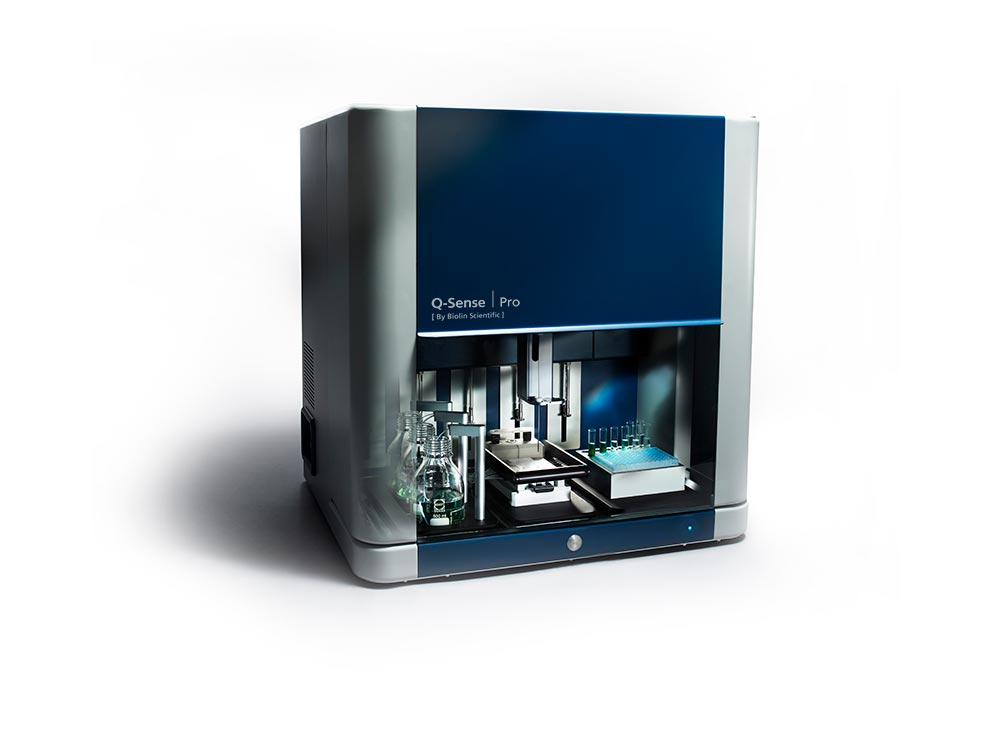 QSense Pro 八通道全自动耗散型石英晶体微天平分析仪